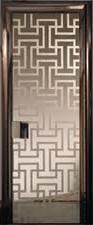 Футуристический дизайн двери