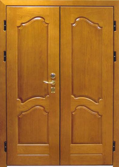 Стальная дверь с накладками из МДФ